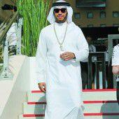 Hamilton im Bahrain-Style