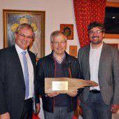 Auszeichnung für Leo Walser
