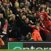 Magische Nacht in Liverpool