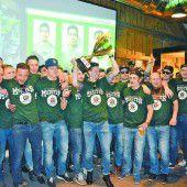 Wälder Hockeycracks auch Meister im Feiern