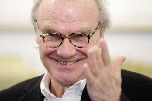 Michael Köhlmeier präsentiert sein neues Buch nun in Vorarlberg bei Russmedia in Schwarzach.