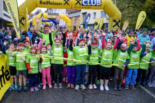 Mit dem Fröschle Marathon der Jüngsten erfolgt am Samstag um 11 Uhr der Startschuss für das Laufsport-Wochenende in Bludenz.