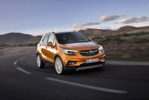"""Mit einem """"X"""" in der Modellbezeichnung startet der Opel Mokka demnächst in seine zweite Generation."""