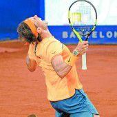 Rafael Nadal ist jetzt auf Sand so gut wie Vilas