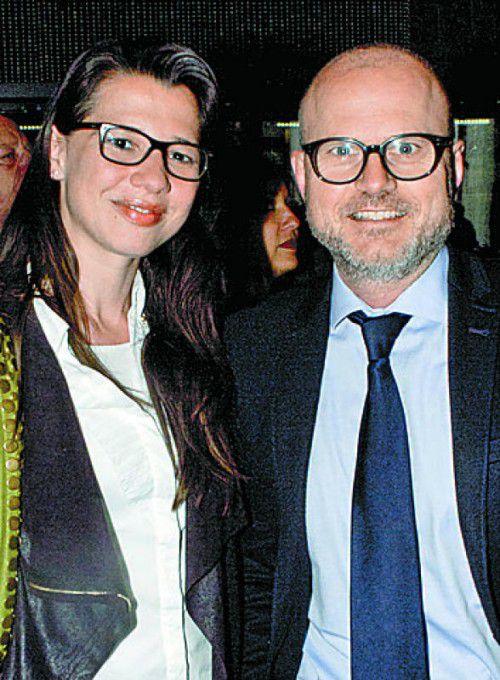 Patricia Erne und Gerhard Stübe.