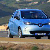 Renault Zoe hat die Nase vorn