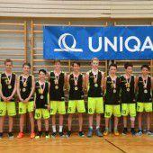 Rankweils Basketballer mit begehrtem Double