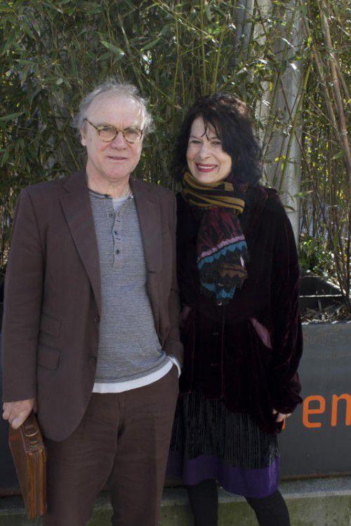 Schriftstellerpaar Monika Helfer und Michael Köhlmeier.