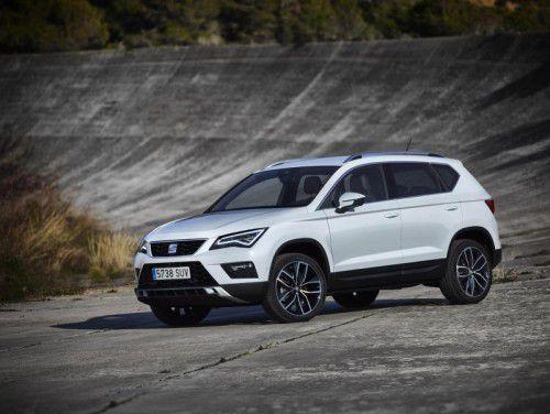 Seat steigt ab kommendem Juli mit dem Ateca ins Segment der kompakten Sports Utility Vehicles ein.