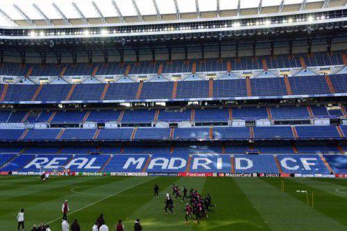 """Seit sieben Jahren ist das Santiago Bernabéu das """"Wohnzimmer"""" von Real-Star Cristiano Ronaldo."""