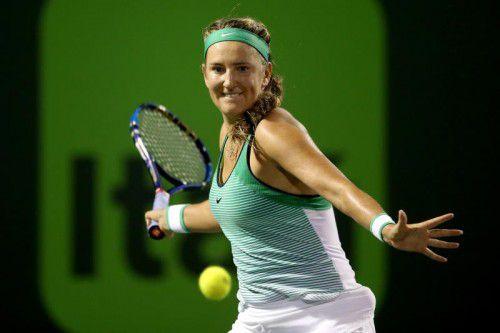 Sieg gegen Angelique Kerber: Victoria Asarenka.