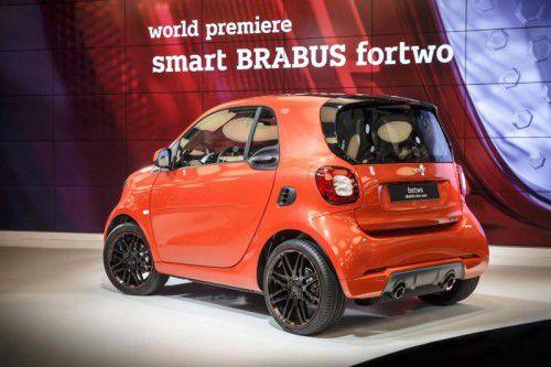 Sportlicher Stadtflitzer: Die Brabus-Version des Smart geht mit 109 PS Leistung an den Start.