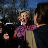 Clinton rechnet mit Sieg