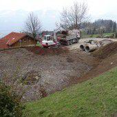 In Thüringerberg wird der Spielplatz erneuert