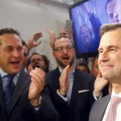 Die Bundespräsidentenwahl und die Partys am Abend