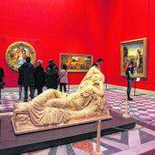 Kunst in den Uffizien