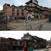 Nepal gedenkt ein Jahr nach Beben der Opfer