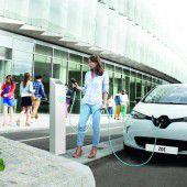 Elektroautos legen im Land einen Gang zu