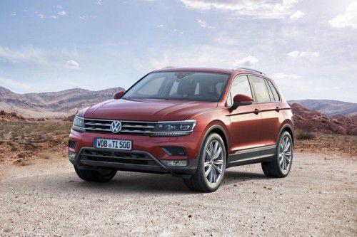 VW Tiguan: Der Nachfolger ist optisch ungleich dynamischer, auch wird eine Reihe von Varianten folgen.