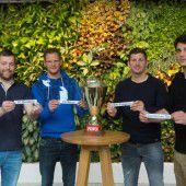 Heimrecht für Dornbirner Klubs im Cup-Halbfinale