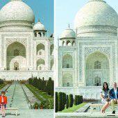 William und Kate besuchten Taj Mahal