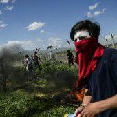 Tränengas an der Grenze