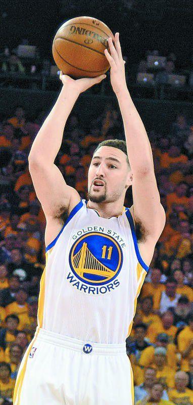 33 Punkte für die Golden State Warriors: Kyle Thompson.