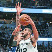 Lehrstunde von den Spurs für Oklahoma