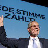 Van der Bellen wird der neue Bundespräsident Österreichs