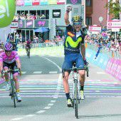 Premierenerfolg beim Giro für Valverde