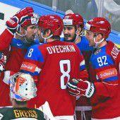 Russland hat vor den Finnen viel Respekt