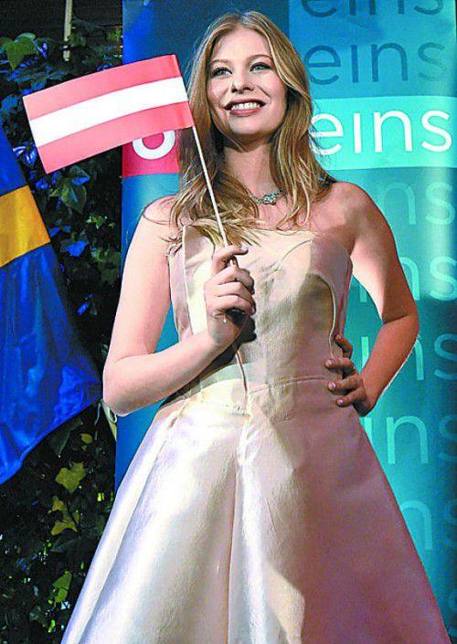Am Dienstag absolvierte Zoë die erste Probe in Stockholm.