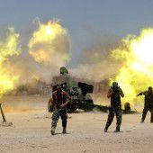 IS-Hochburgen im Irak und in Syrien im Visier