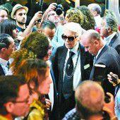 Karl Lagerfeld in Kuba bei erster Chanel-Show