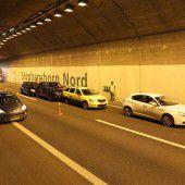 Im Tunnel aufgefahren