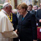 Franziskus ruft Europa zu mehr Humanismus auf