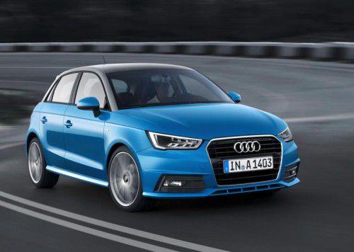 Audi A1: Das jüngste Facelift brachte dem Ingolstädter Benjamin als Mitgift ein markanteres und sportlicheres Outfit ein.