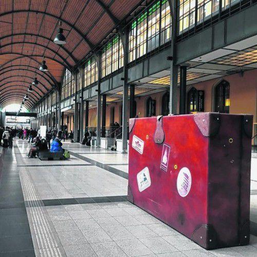 Augenweide bei An- und Abreise: der restaurierte Hauptbahnhof.