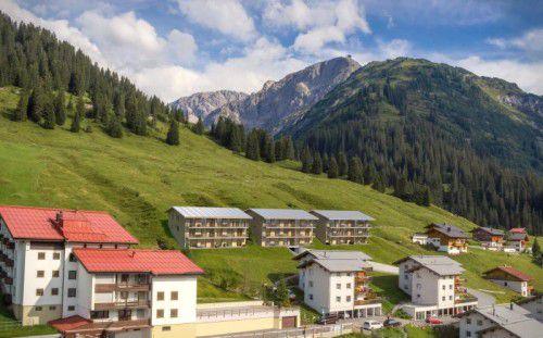 In Lecher Ortsteil Stubenbach wird eine neue Wohnanlage errichtet.