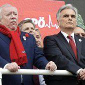 SPÖ zeigt sich als gespaltene Partei