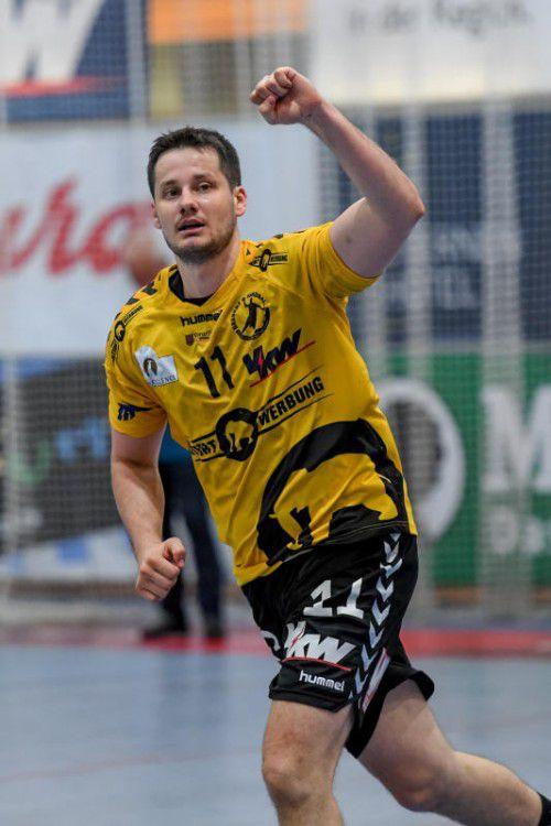 Bojan Beljanski ist eine der tragenden Säulen im Spiel von Rekordmeister Bregenz.