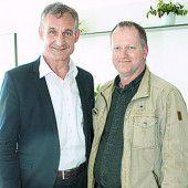 Bürgermeister Markus Linhart (l.) und Herbert Gross.