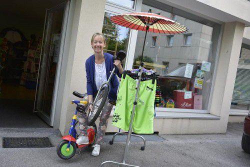 Carmen Pfanner hofft, dass der Shop erhalten bleibt.