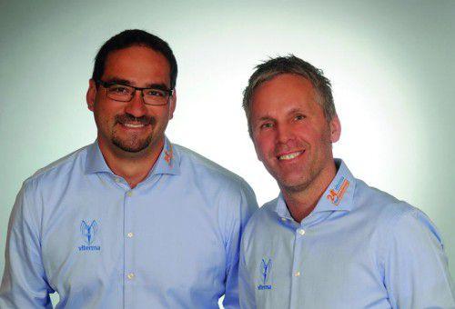 """Christian Krb und Thomas Jappel aus St. Pölten wurdenfür den Award """"Bester Franchise-Partner Newcomer 2016"""" nominiert."""