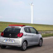 Citroën C1: Der Bruder des Peugeot 108 und des Toyota Aygo trägt auf dem österreichischen Markt stets eine Stoffmütze.