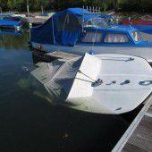 Motorboot gesunken