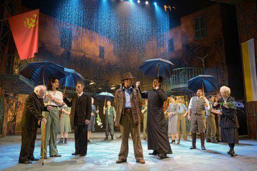 """Das Musical """"Don Camillo & Peppone"""" wurde am Samstagabend in St. Gallen uraufgeführt."""