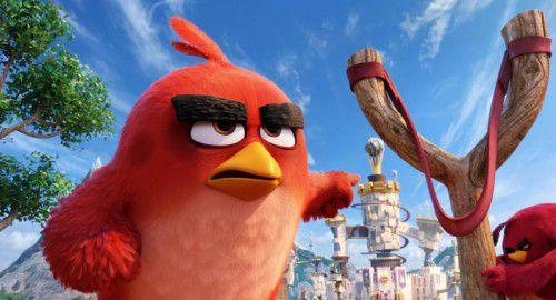 """Der """"Angry Birds""""-Kosmos hat sich enorm ausgeweitet: Nun kommt er auf die Leinwand."""