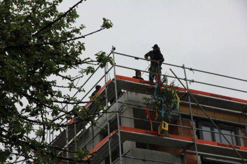 Bei Rhomberg Bau wurde der Baustellenbetrieb eingestellt. FA