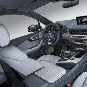 Der SQ7 glänzt mit luxuriöser Inneneinrichtung.